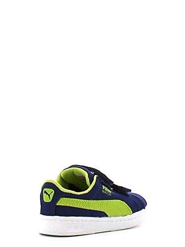 Puma , Baskets pour garçon - Monaco blue-lime punch