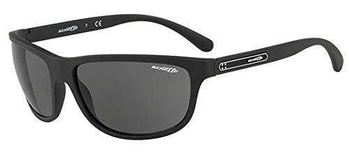 Arnette Herren 0AN4246 01/87 63 Sonnenbrille, Schwarz (Matte Black/Grey),