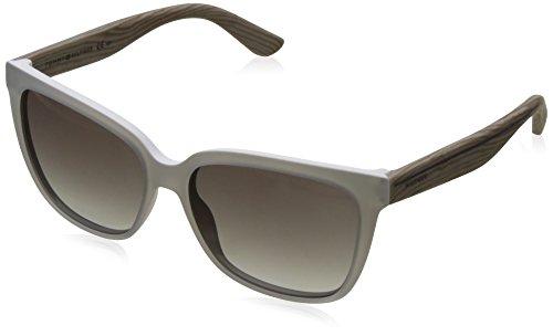 Tommy Hilfiger Damen Sonnenbrille TH 1312/S 9O M6I 55, Grau (Crywhtgryptt/Grey) Preisvergleich