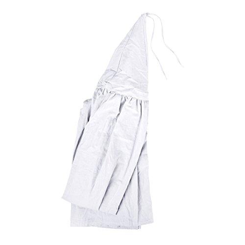 Tyhbelle Betthimmel für Kinder Babys Baumwolle Hängende Moskiton Höhe 230 cm Saumlänge 270cm (Weiß) - 5