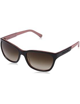Emporio Armani Damen EA 4004 Essential Leisure Wayfarer Sonnenbrille