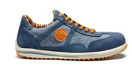 SCARPA ANTINFORTUNISTICA DIKE SERIE RAVING MOD. RACY S1P SRC PELLE COL. JEANS - 100% MADE IN ITALY - ART. 26016.804 - NR. 43