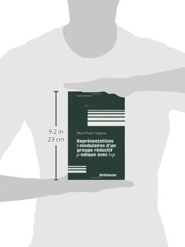 Representations 1 Modulaires D'UN Groupe Reductif P-Adique Avec 1 P