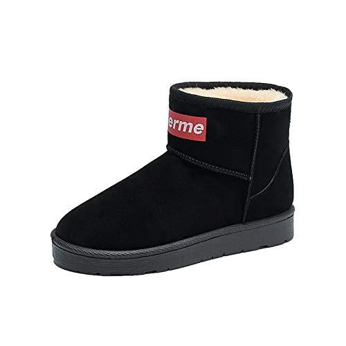 Shoe House Faux Wildleder Warme Pelz Schnee Stiefel Casual Comfort Knöchelstiefel Größe 37EU,EU38/US7B(M)/UK5.5 (Kinder Für Faux-pelz-stiefel)