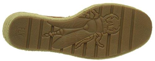 Fly London Ekan967fly, Heels Sandals Donna Marrone (tan/offwhite/black 001)