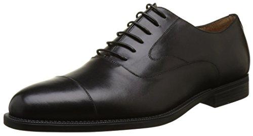 Stonefly Berry Ii 2, Chaussures À Lacets Pour Hommes Low Oxford Noir (noir 000)