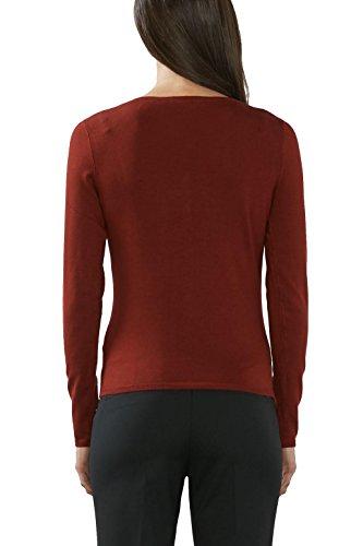 ESPRIT Collection Damen Strickjacke Rot (GARNET RED 620)