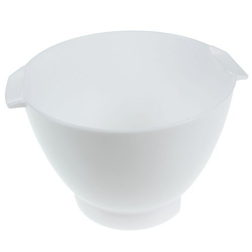 Preisvergleich Produktbild First4Spares - Rührschüssel für Kenwood Mixer / Entsafter / Blender, weiß
