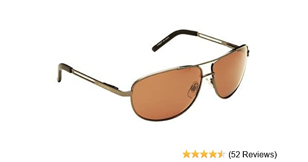 4536397ba58 Sunglasses - Driving Aviator - Men s Polarised Sunglasses - Men s Isas -  Black Frame Brown Lens + Free Hard Case