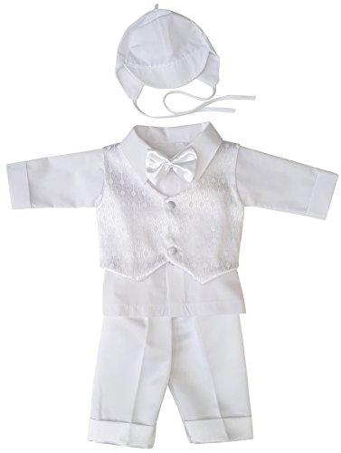 YES Taufanzug Festanzug Babyanzug Anzug Junge Baby Taufe Set Justin wieß 68