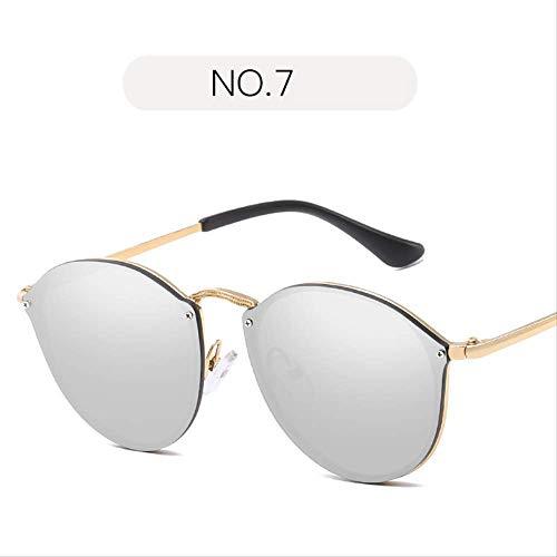 ZHAS Sonnenbrillen Fishion Sonnenbrillen Damen Elegant Randlos Vintage Sonnenbrille Für Damen Herren Sonnenbrillen Sind Aus Hochwertigen Materialien Für Langlebigkeit Hergestellt