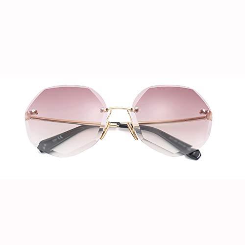 MXRtyja Sonnenbrillen Sonnenbrille im Retro-Harajuku-Stil mit UV-Farbverlauf für...