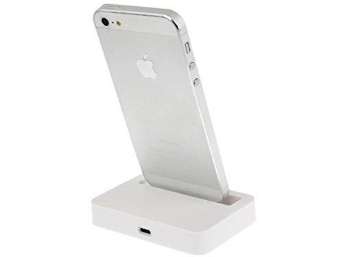 iPhone Desktop Charging Dock - White weiß