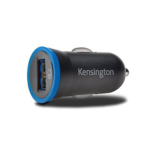 Kensington PowerBolt Auto schwarz Ladegerät von Mobiltelefonen-Ladegeräte von Mobiltelefonen (Auto, Universal, KFZ, schwarz) - Powerbolt Auto-adapter