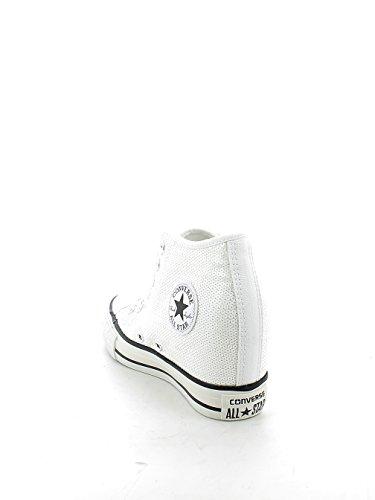 Converse - Converse Ctas Lux Mid SChaussures de Sport Femme Blanc Bianco