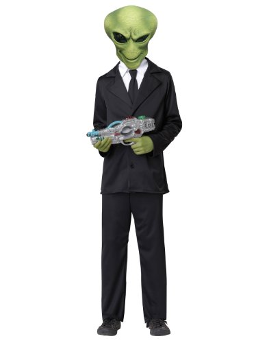 California Costumes Funny Alien Agent Costume (Agent Kostüme Für Kinder Secret)