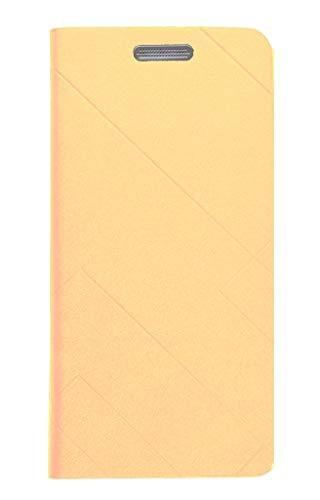 FABUCARE Flip Cover for Asus Zenfone Lite L1 Flip Cover Case - Gold