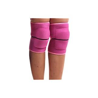 Rodilleras con almohadillas de protección, elásticas, gruesas, para niños; para uso en bailes, voleibol, deportes, etc.