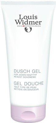 Ein Parfümiertes Duschgel (Widmer Duschgel leicht parfümiert, 200 ml)