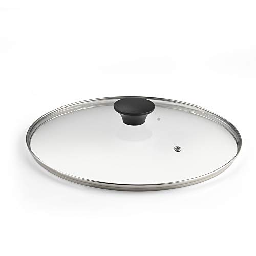 Cook N Home 02571 Tempered Glass Lid, 8-inch, Clear