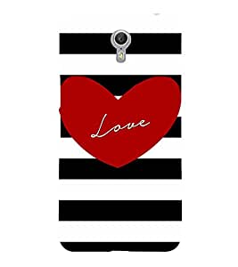 Young Love 3D Hard Polycarbonate Designer Back Case Cover for Lenovo Zuk Z2 Pro