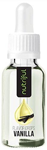 Nutriful Flavor Drops Vanille 30ml Geschmackskonzentrat 0kcal