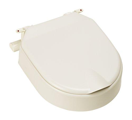Etac Hi Loo 10cm/10,2cm Fest erhöhter WC-Sitz mit Deckel -