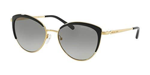 Ray-Ban Damen 0MK1046 Sonnenbrille, Schwarz (Gold), 56