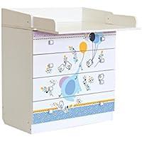 Polini Kids Baby cambiador cambiador simple 1580con varios diseño en