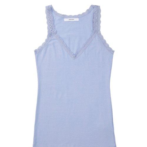 women'secret - Camiseta de tirantes en algodón Azur