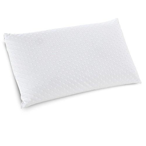 Classic Marcas Embrace Firme Almohada de látex, Espuma de látex 100por ciento de...