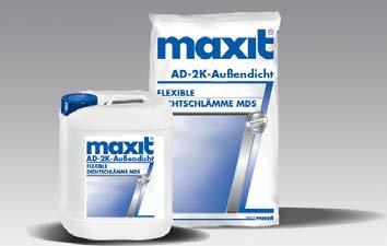 maxit AD-2K-Außendicht - Flexible Dichtschlämme MDS, 35kg
