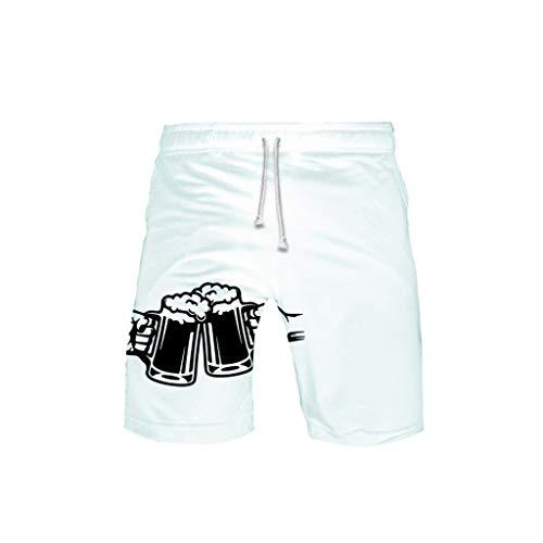 WOZOW Cargo Shorts Kurze Hose Damen Herren Casual Loose Boho Hawaii Oktoberfest Bierfest Print Muster Bedrucktes Midi Beach Freizeithose Stoffhose High Waist Lustig Kostüm Trouser - Jean Grey Summers Kostüm