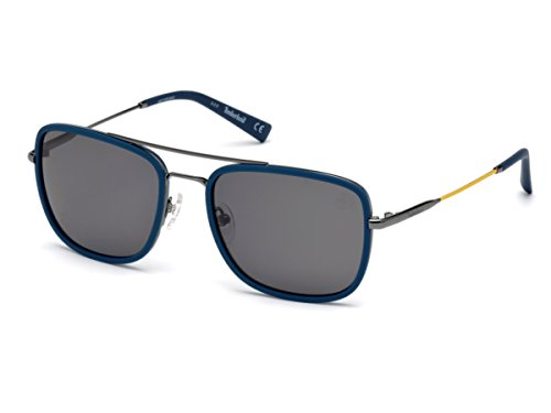 Occhiali da sole polarizzati timberland tb9119 c57 92d (blue/other / smoke polarized)