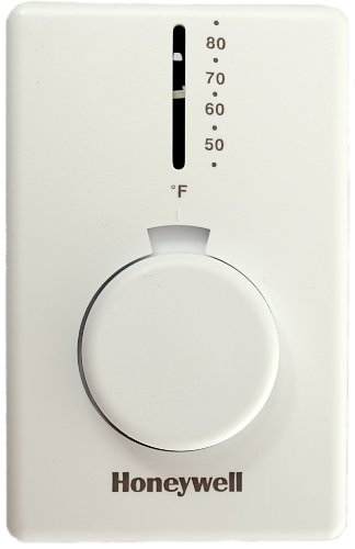 Line Spannung Mechanische Thermostat, Heizung nur, 120bis 277VAC, 1Stage
