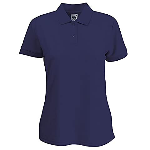 Fruit Of The Loom Womens Lady-Fit 65/35 Short Sleeve Polo