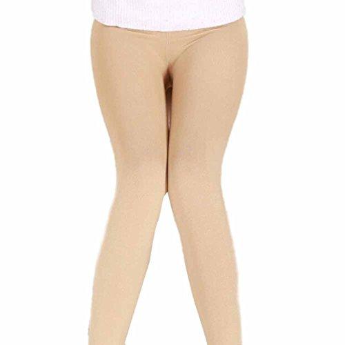 TWIFER Frauen Winter Plüsch Kaschmir Dicke Hosen Super Elastic Slim Legging (Freie Größe, Khaki) (Kaschmir-leggings)