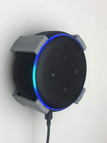 Echo DOT 3rd Generation Wandhalterung mit 4 Beinen, Grau