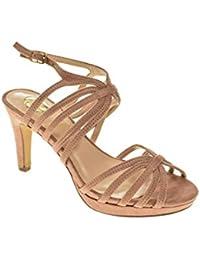 Zapato Fiesta - Mujer - Nude - destroy - 426820
