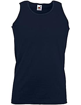 Fruit of the Loom - Athletic Vest, Con spalline Uomo