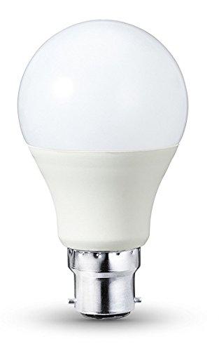 LED Leuchtmittel 5 W B22, 3200 K Warm Weiß, 450 Lumen, entspricht 40 Watt Halogen, 30000 Stunden, 270 Grad Abstrahlwinkel, nicht dimmbar (40w Halogen-anhänger)