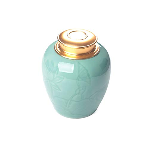Kaffeedosen THBEIBEI Keramiklagerkanister Innen und außen Vollglasur-Design Leicht zu reinigen Multifunktionsspeicher mit großer Kapazität (Color : B, Size : 1100ML)