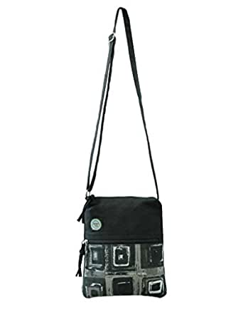 Anekaant Women'S Sling Bag ( Black,Adb3034J)