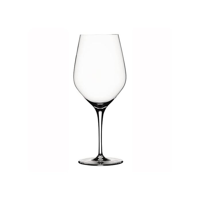 Spiegelau & Nachtmann, 4-teiliges Bordeauxglas Set, Kristallglas, 650 ml, Authentis, 4400177