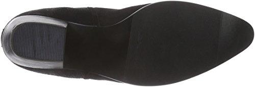 Giudecca Jy1524a-1, Bottes Chelsea courtes, doublure froide femme Noir - Noir