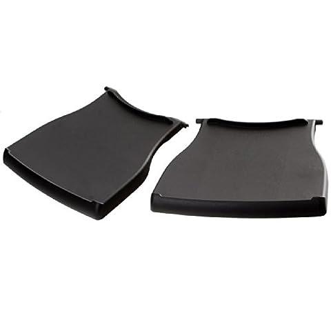 Weber Seitentische Q1000-Serie, schwarz