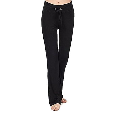 iBaste Femme Pantalon de Yoga Danse du Ventre Fitness Pants Sport Legging Grande Taille