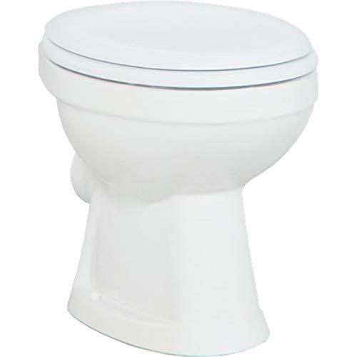 Creavit Stand WC Tiefspül Weiß Toilette Abfluss Wand TP310 Senkrecht