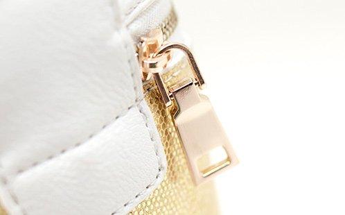 Unicorn Tears super süsse Einhorn Umhängetasche mit Glitzer in Farben: Pink, Silber, Gold & Rot Silber