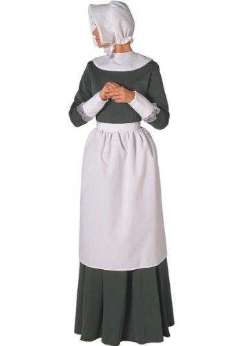 Forum Neuheiten 102262 Pilgrim Lady Accessory Kit - Erwachsene - Wei- - One (Womens Kostüme Pilgrim)